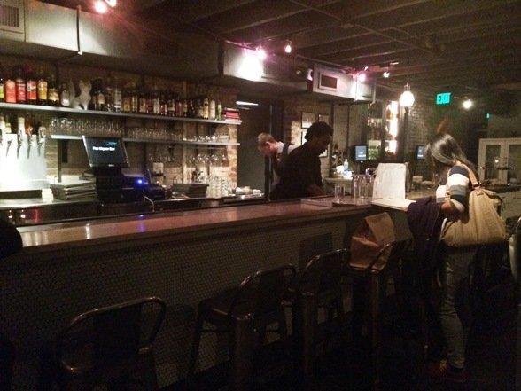 Mellow bar at Fox Liquor Bar, Raleigh- NC Triangle Dining