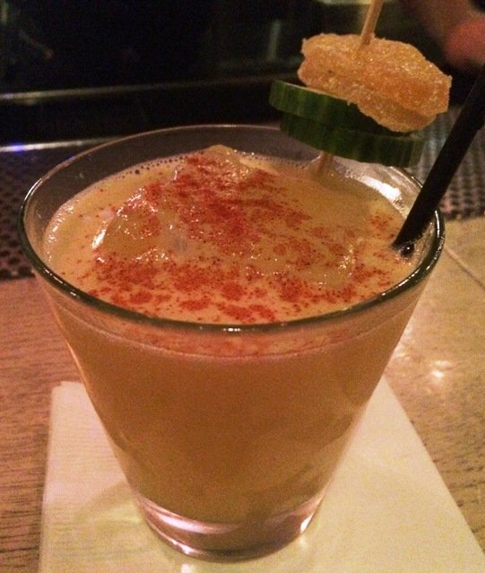 Mexcal Mule at Fox Liquor Bar, Raleigh- NC Triangle Dining