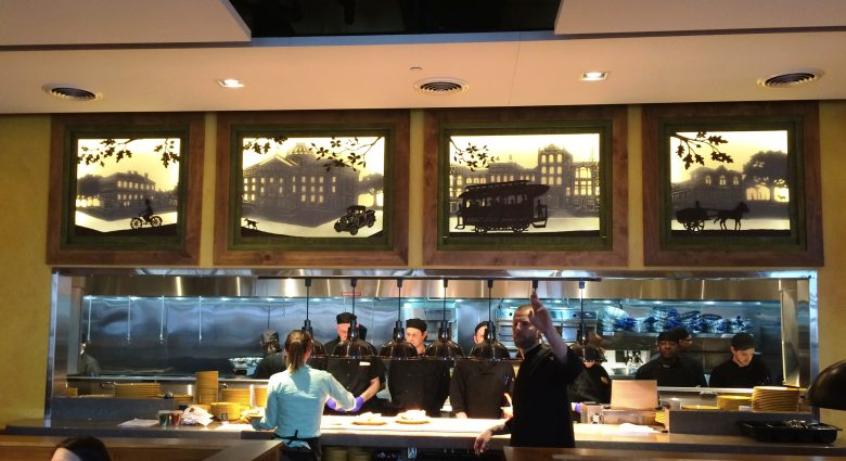 Kitchen at Tupelo Honey Cafe, Raleigh- NC Triangle Dining