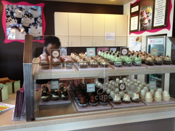 Gigi's cupcakes at Waverly Place, Cary- NC Triangle Dining