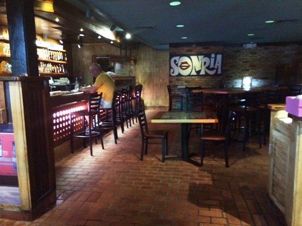 Bar area at Totopos in Cary- NC Triangle Dining
