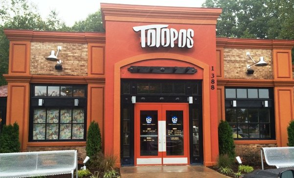 Front of Totopos in Cary- NC Triangle Dining