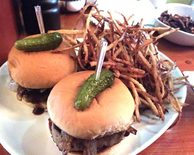 Meatloaf sliders at Bar Virgile, Durham- NC Triangle Dining