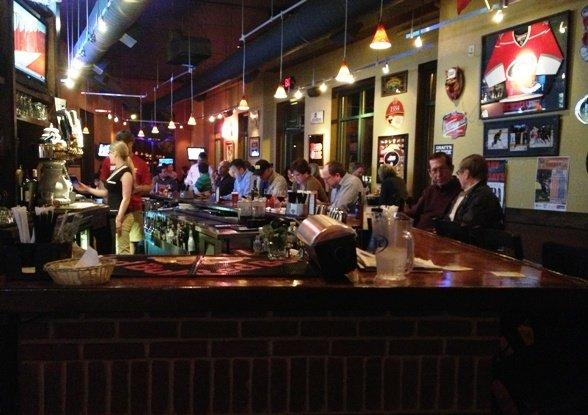Bar at Spirits Pub & Grub, Cary- NC Triangle Dining