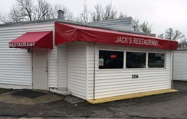 Humble front of Jack's Seafood and Soul Food in Raleigh- NC Triangle Dining