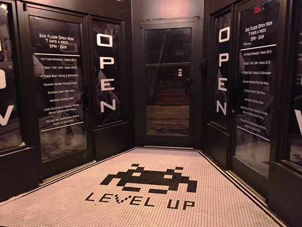 LevelUpBarcade-EntryWay