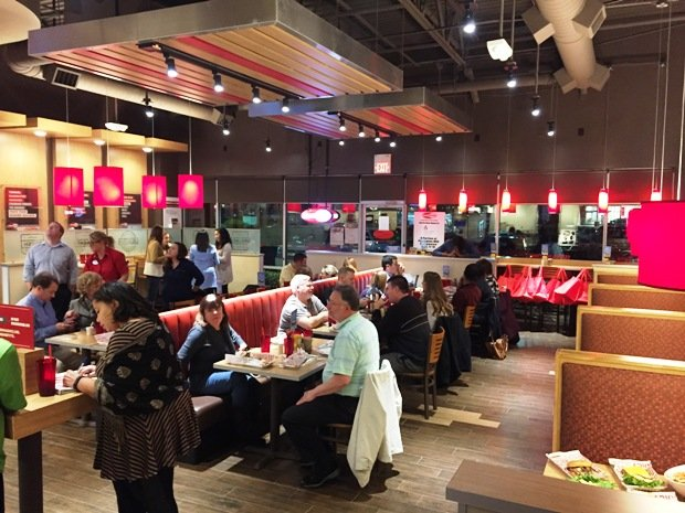 Dining room at Smashburger, N. Raleigh- NC Triangle Dining