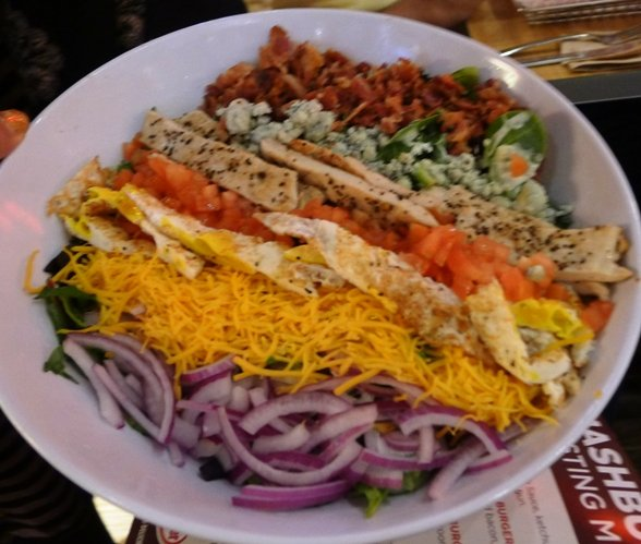 Salad at Smashburger, N. Raleigh- NC Triangle Dining