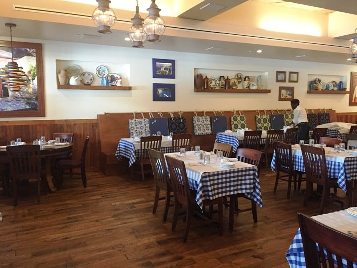 Dining room at Taverna Agora, Raleigh- NC Triangle Dining