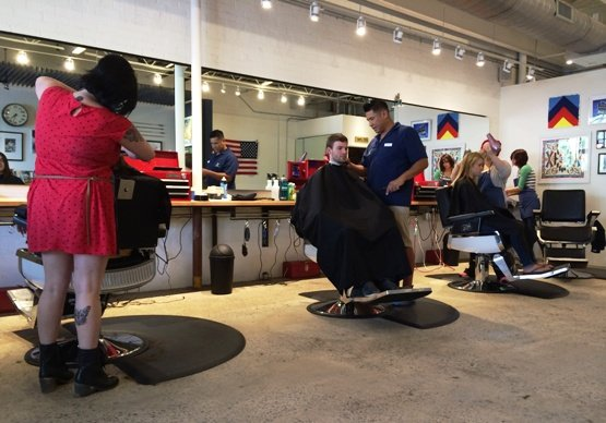 Stylists at Arrow Haircuts in Cameron Village, Raleigh- NC Triangle Dining