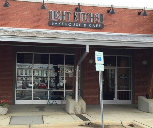 Front of Night Kitchen Bakehouse in Raleigh- NC Triangle Dining