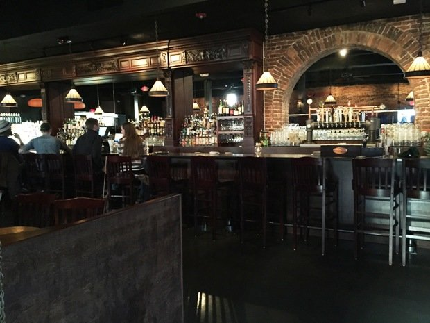 Bar at Circa 1888 in Raleigh- NC Triangle Dining