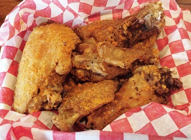 Wings from Heavenly Buffaloes, Durham- NC Triangle Dining