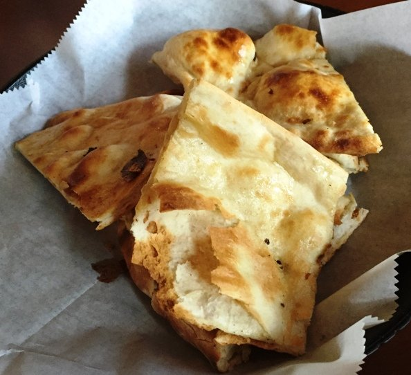 Well-made naan at Saffron in Morrisville- NC Triangle Dining
