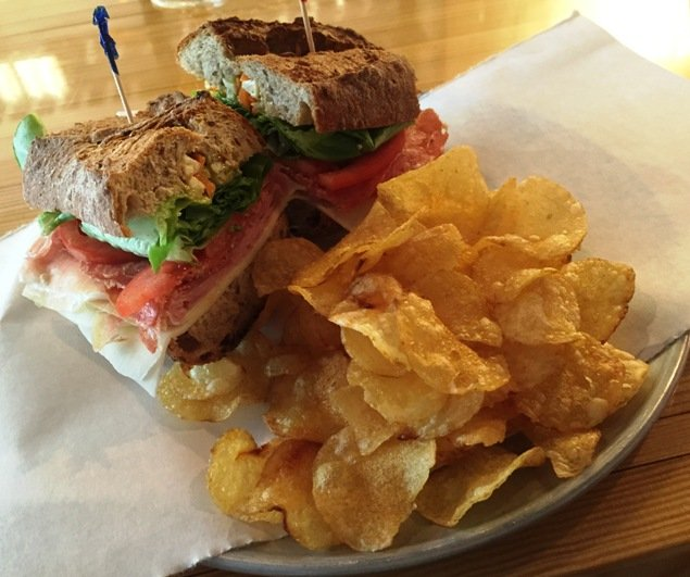 Italian sandwich at State of Beer, Raleigh- NC Triangle Dining