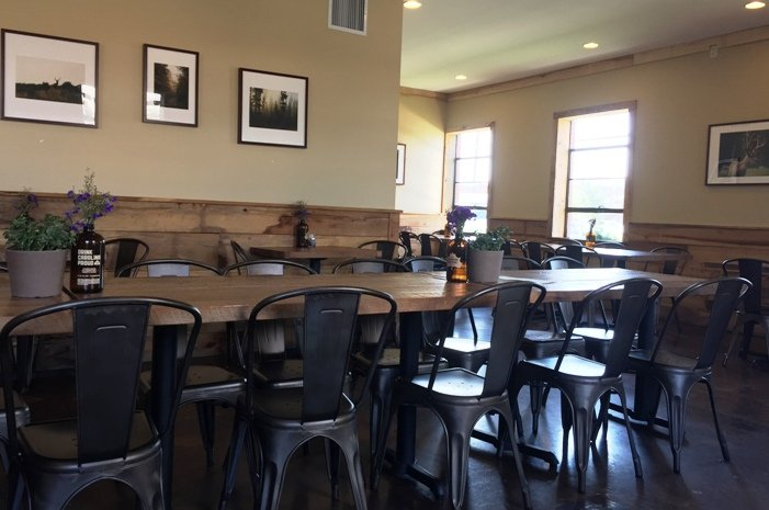Drinking room at Sycamore Brewing in Charlotte- NC Triangle Dining