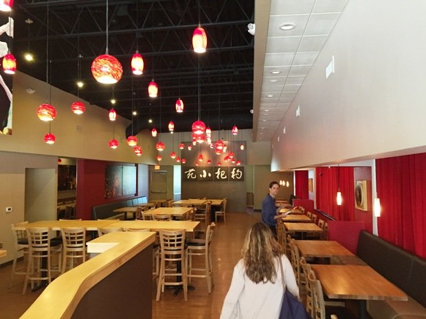 Refreshed interior at Goji Bistro, Cary- NC Triangle Dining