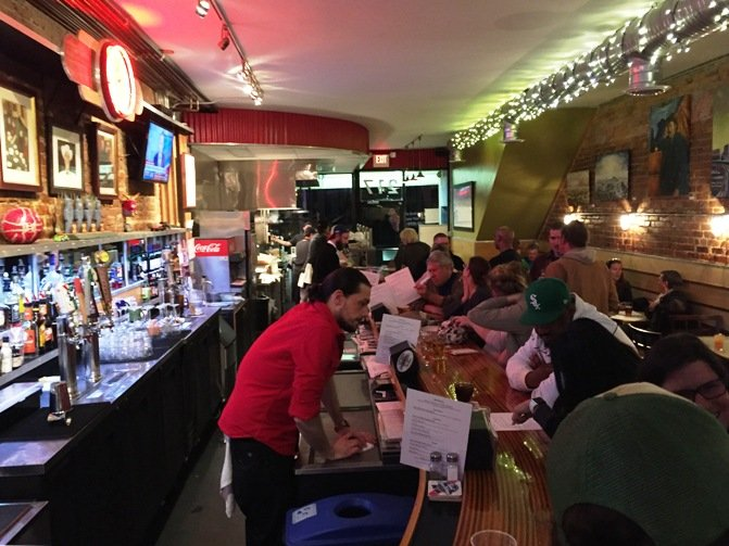Busy evening at Berkeley Cafe in Raleigh- NC Triangle Dining