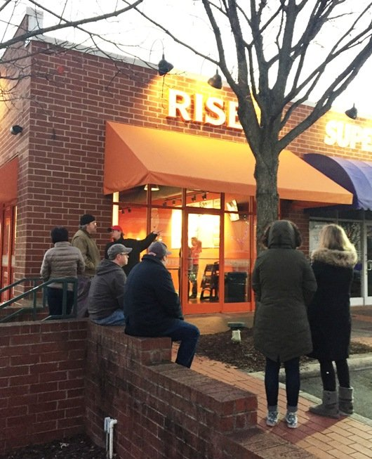 Opening day at Rise in Cameron Village, Raleigh- NC Triangle Dining