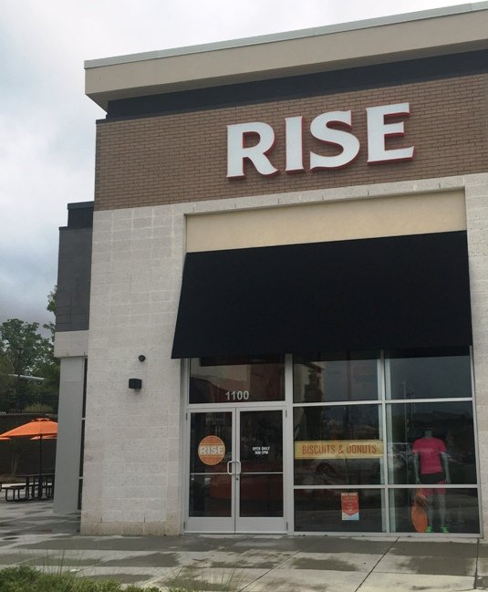 Front of Rise in Morrisville- NC Triangle Dining