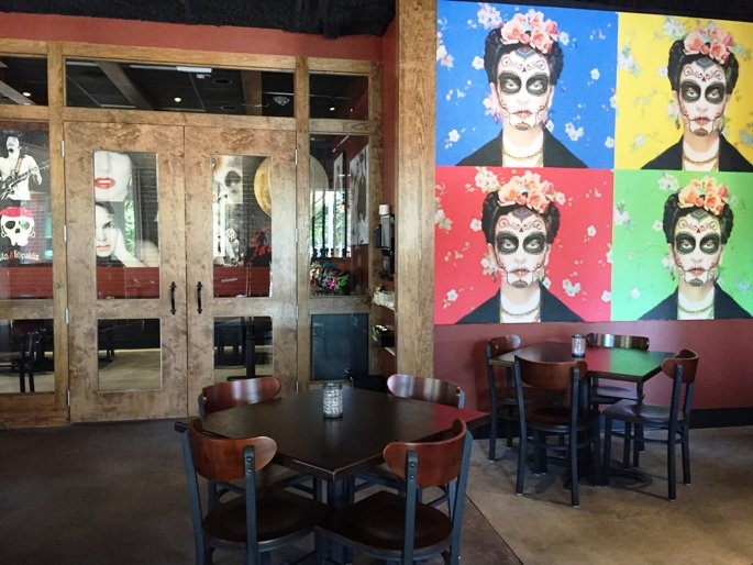 Dining room at Gonza Tacos y Tequila in Raleigh- NC Triangle Dining