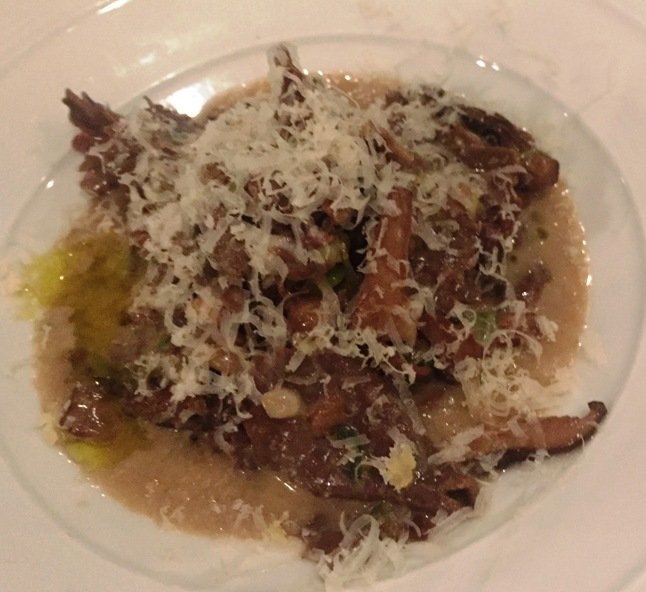 Hand-cut taglierini with porcini at Il Palio in Chapel Hill- NC Triangle Dining