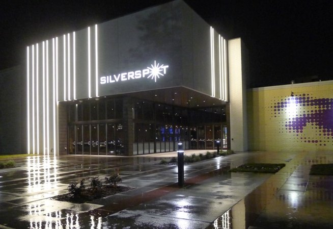 Front of Silverspot Cinema in Chapel Hill- NC Triangle Dining