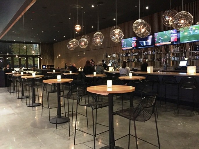Bar at Trilogy in Silverspot Cinema, Chapel Hill- NC Triangle Dining