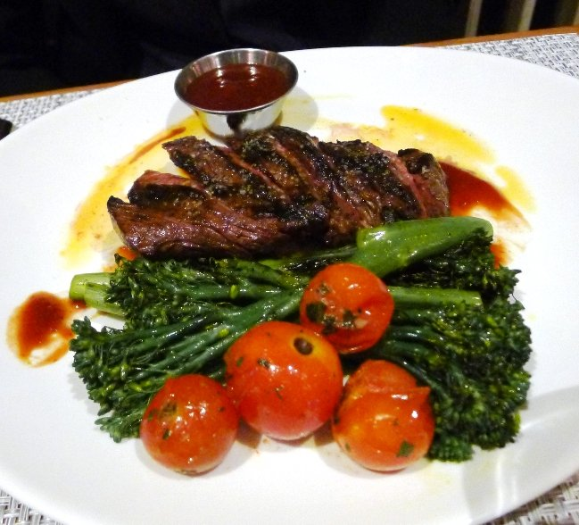 Steak at Trilogy in Chapel Hill- NC Triangle Dining