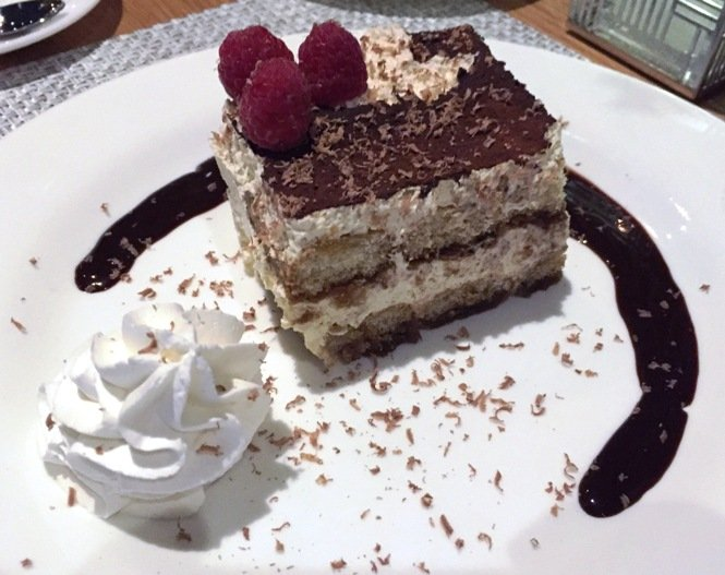 Tiramisu at Trilogy in Chapel Hill- NC Triangle Dining