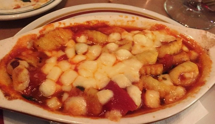 Baked gnocchi at Gocciolina in Durham- NC Triangle Dining