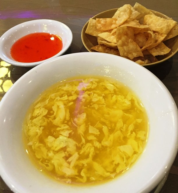 Egg-drop soup at Jade Garden, Raleigh- NC Triangle Dining