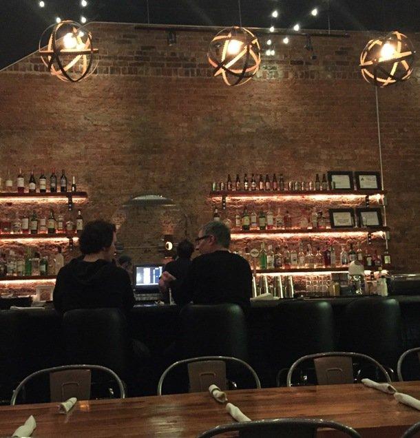 Bar at Luna Rotisserie and Empanadas in Durham- NC Triangle Dining