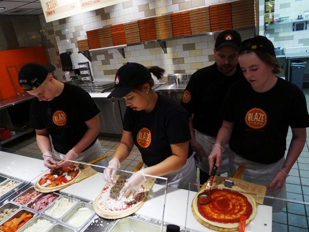 Blaze Pizza, Morrisville- The Best of 2015, NC Triangle Dining
