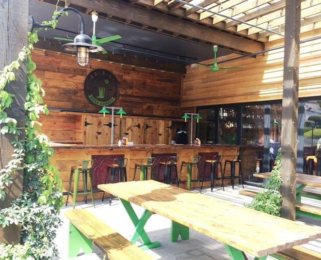 Raleigh Beer Garden Setting World Beer Tap Records In