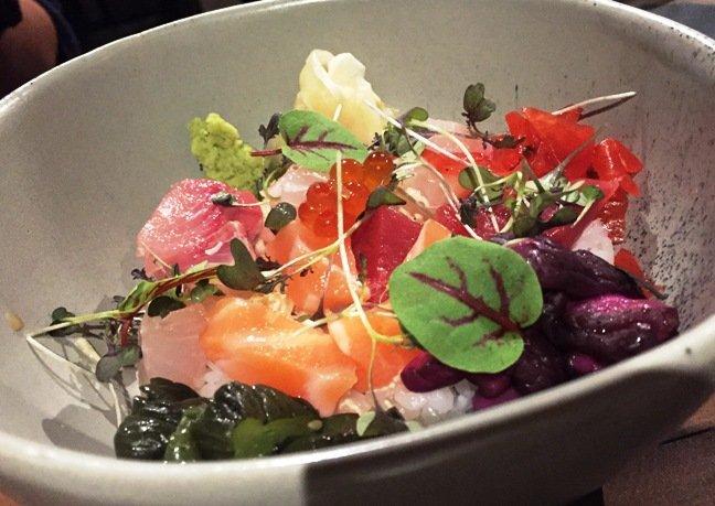 Omakase chirashi at M Sushi, Durham- NC Triangle Dining