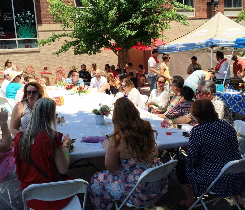 2015 Hook and Vine Festival, pic courtesy of the Wine Feed- NC Triangle Dining