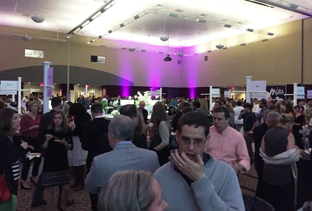 Crowd at the 2016 Toast to the Triangle in Raleigh- NC Triangle Dining
