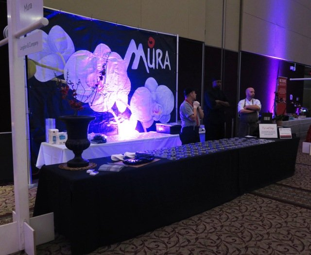 Mura table at the 2016 Toast to the Triangle, Raleigh- NC Triangle Dining