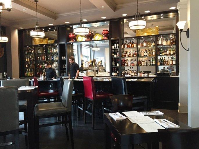 Verandah bar at the Mayton Inn, Cary- NC Triangle Dining