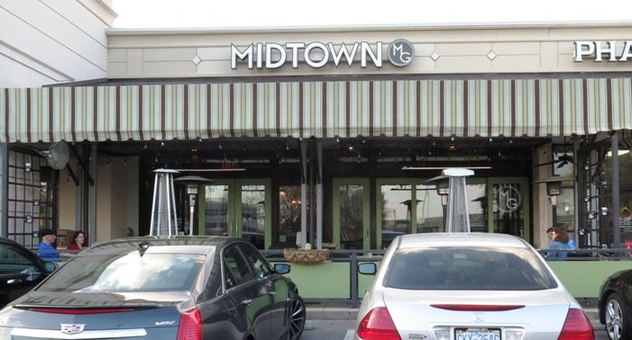 Front of Midtown Grille in Raleigh- NC Triangle Dining