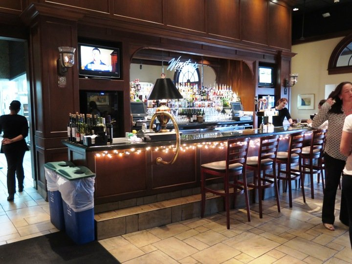 Bar at Winston's Grille in Raleigh- NC Triangle Dining