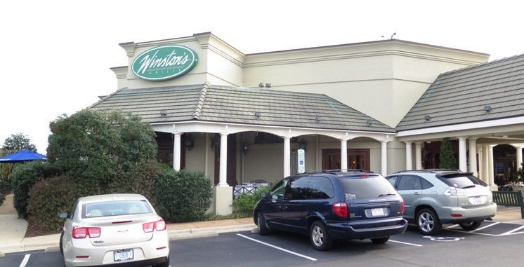 Front of Winston's Grille in Raleigh- NC Triangle Dining