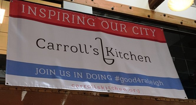 Launch party for Carroll's Kitchen in Raleigh- NC Triangle Dining