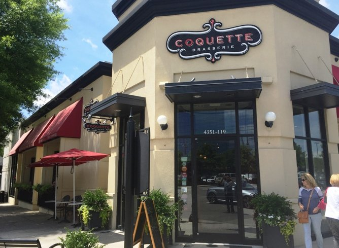 Front of Coquette in Raleigh- NC Triangle Dining