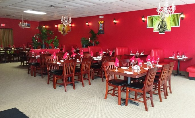 Dining room at Himalayan Range in Cary- NC Triangle Dining