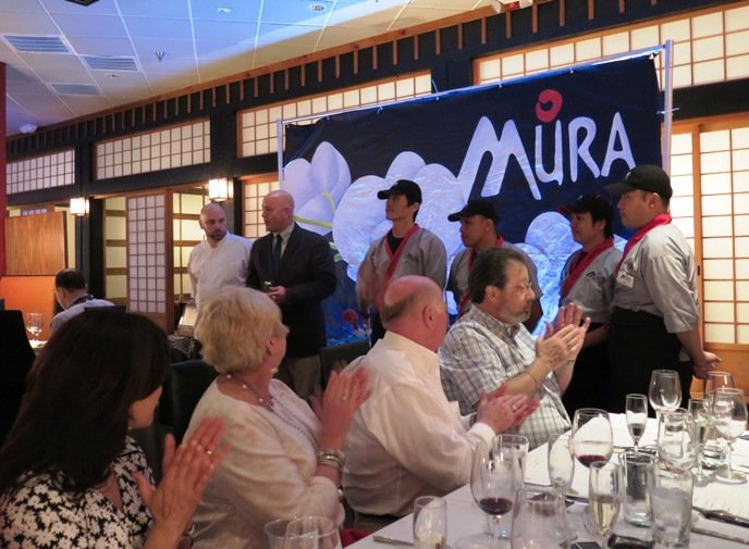 Chefs at Mura Wine vs Sake dinner, Part II in Raleigh- NC Triangle Dining