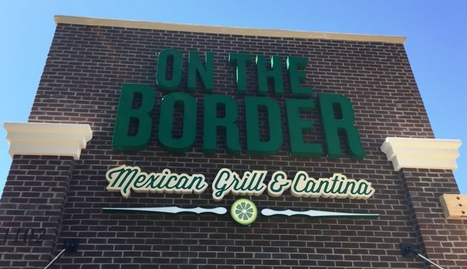 The re-opened On the Border in Cary- NC Triangle Dining