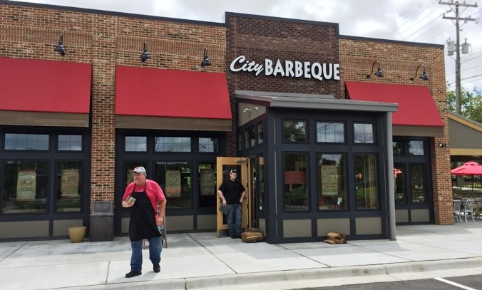 Front of City Barbeque in Durham- NC Triangle Dining