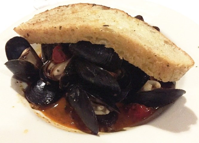 Mussels app at NanaSteak in Durham- NC Triangle Dining